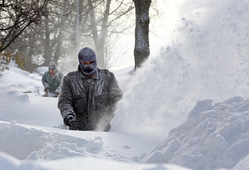 East Coast blizzard