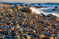 Back Shore Waves & Rocks